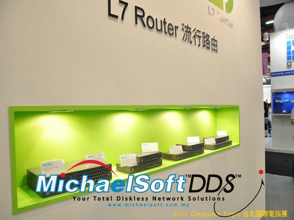 Computex 2011 - QNO MultiWAN Router (Taipei)